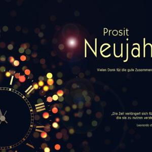 Prosit Neujahr E-Card - online kaufen, ohne Werbung (120)