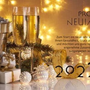 geschäftliche Neujahrsgrußkarte, E-Card mit Spruch, ohne Werbung (654)