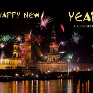 Happy New Year aus Dresden, ohne Werbung (656