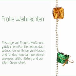 geschäftliche Weihnachts E-Card mit Spruch, ohne Werbung (0684)